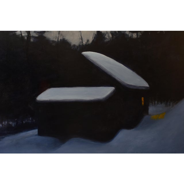 """Contemporary Stephen Remick, """"Cozy"""", Contemporary Painting For Sale - Image 3 of 11"""