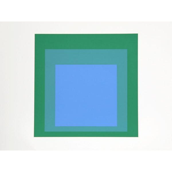 "Modern Josef Albers ""Portfolio 2, Folder 33, Image 2"" Print For Sale - Image 3 of 3"