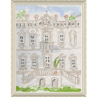 """Malmaison"" By Dana Gibson, Framed Art Print For Sale"