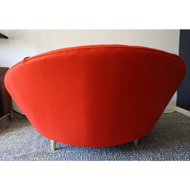 Milo Baughman Round Chaise Lounge For Sale In Chicago - Image 6 of 10