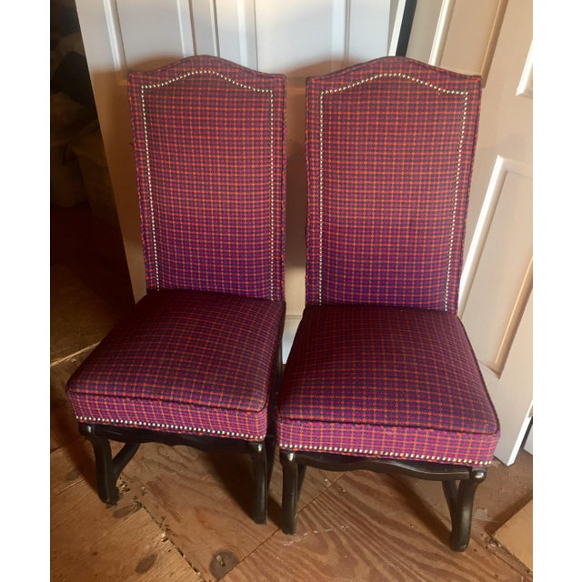 Louis XIII Style Os De Mouton Dining Chairs - a Pair - Image 9 of 11