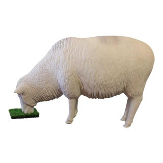 Life-Sized Fiberglass Sheep