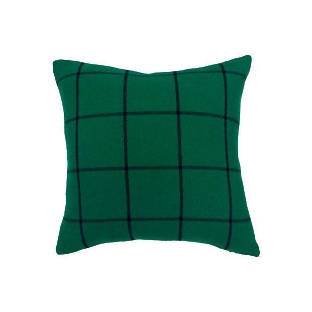 Ralph Lauren Cashmere Plaid Pillows - A Pair - Image 2 of 4