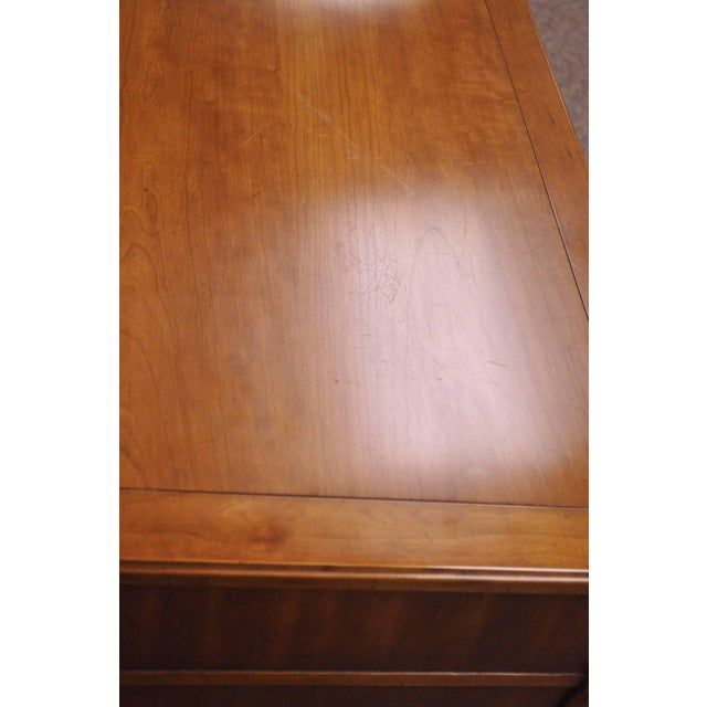 Brown Directoire Commode by Kindel Furniture For Sale - Image 8 of 11