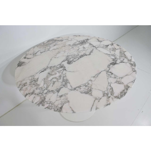 Eero Saarinen for Knoll Tulip Table For Sale In Dallas - Image 6 of 9