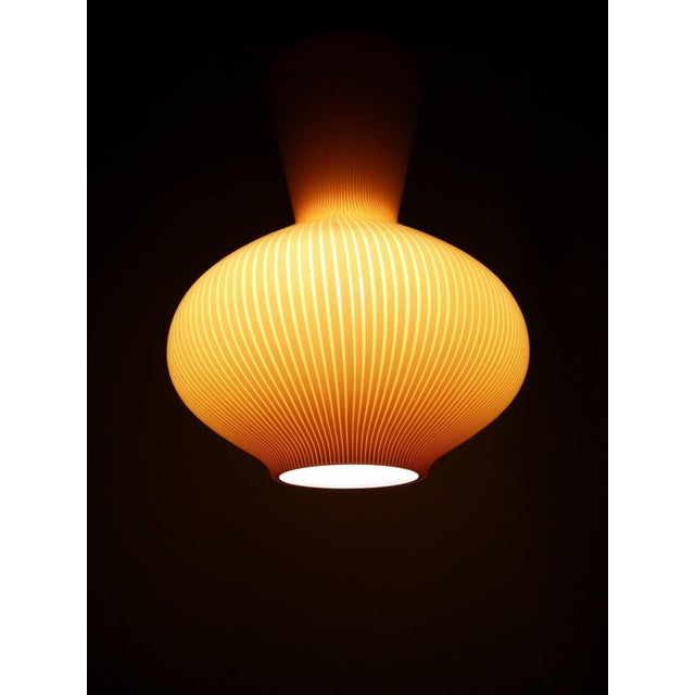 "Mid 20th Century Massimo Vignelli ""Fungo"" Lighting Fixture For Sale - Image 5 of 6"