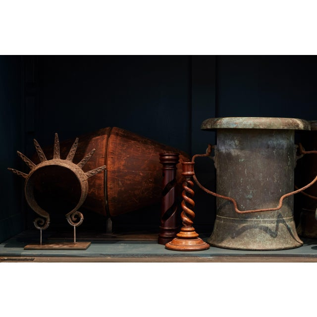 19th Century Pair of Verdigris Vessels From France For Sale - Image 9 of 11