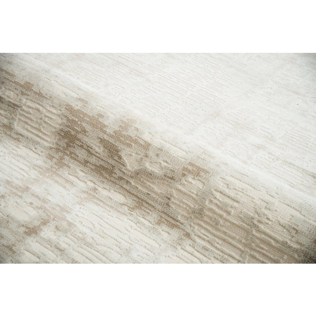 """Contemporary Stark Studio Rugs Bixby Rug in Taupe, 2'7"""" x 7'7"""" For Sale - Image 3 of 6"""