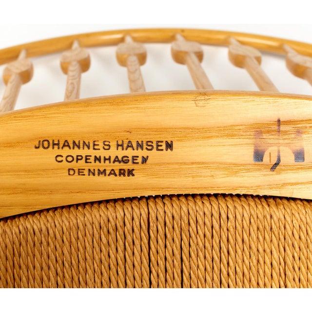 Hans Wegner for Johannes Hansen 'Peacock Chair', ca. 1947 For Sale - Image 10 of 10