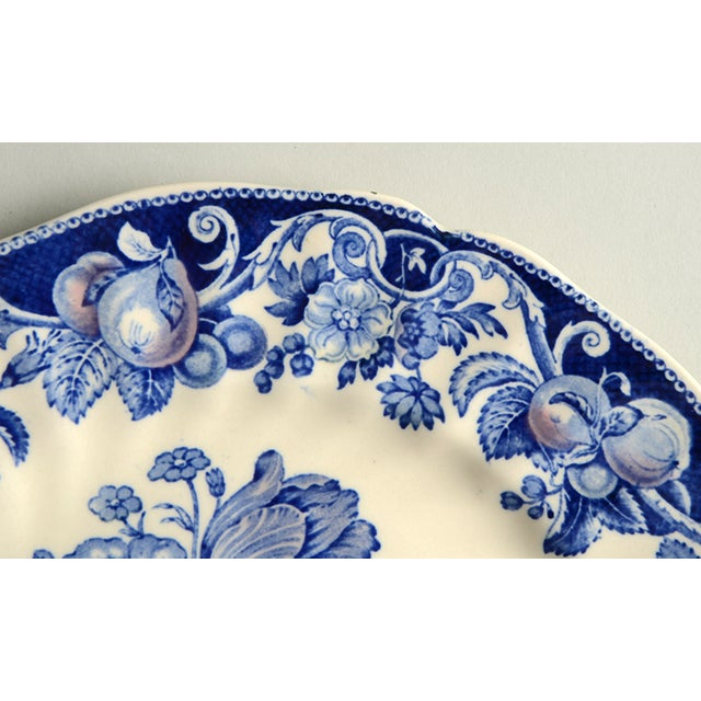 Royal Doulton Royal Doulton Pomeroy Blue Dinner Plate - Set of 8 For Sale - Image 4 of 7