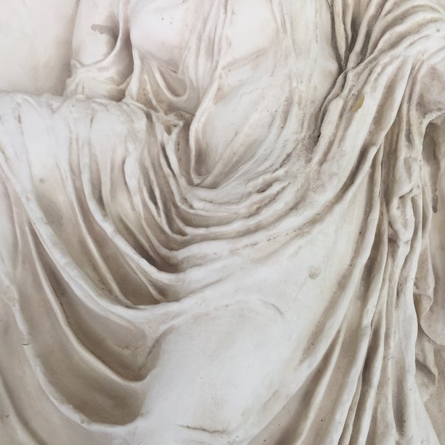 Neoclassical White Venus Relief - Image 4 of 5