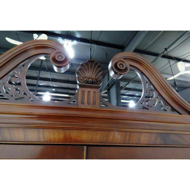 Georgian Style China Cabinet For Sale - Image 11 of 13