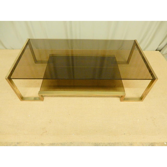 Mid-Century Modern Guy Lefevre' Mid-Century Coffee Table For Sale - Image 3 of 7