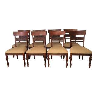 Ethan Allen Mackenzie Dining Chairs - Set of 8 For Sale
