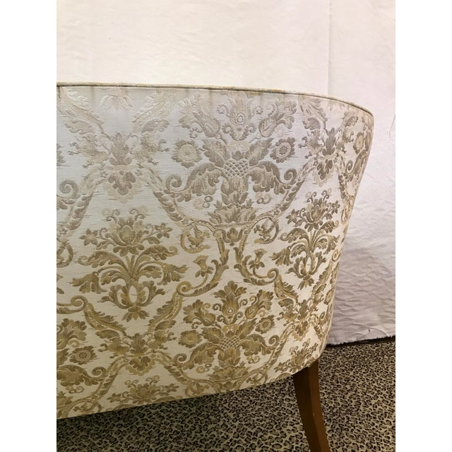 Vintage Neoclassical Settee With Nailhead Detail - Image 8 of 11