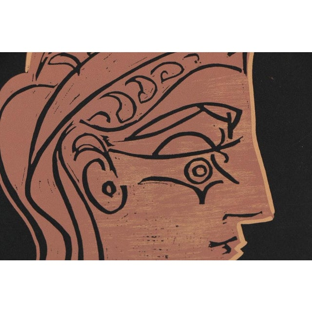 Brown Picasso Vintage Print For Sale - Image 8 of 11