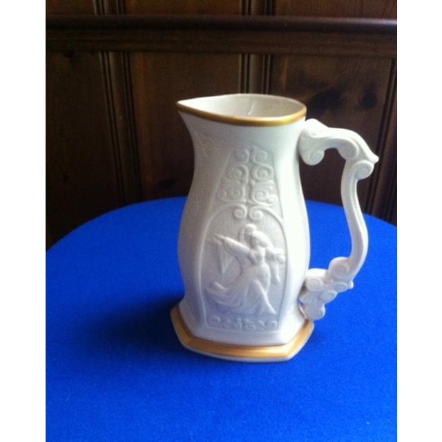 Ceramic Mid-Century Limited Edition Lenox Porcelain Pitcher For Sale - Image 7 of 10
