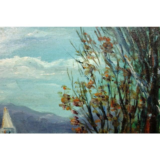 Impressionist Winter Landscape by Viki Rakoff - Image 4 of 7