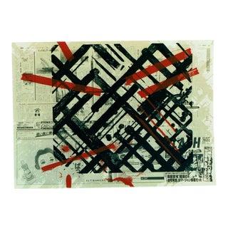"Ed Moses ""Ikuru Speak-No"" Silkscreen Print Limited 223/250 Signed For Sale"