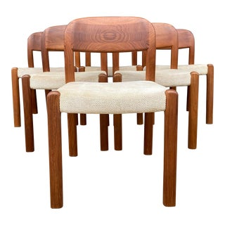 Emc Mobler Danish Dining Chairs - Set of 6 For Sale