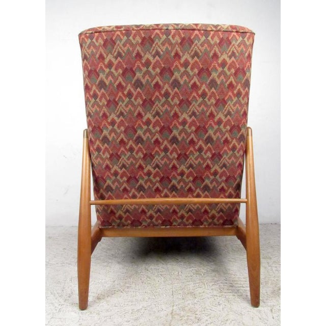 1960s Mid-Century Modern Lounge Chair in the Style of Adrian Pearsall For Sale - Image 5 of 7