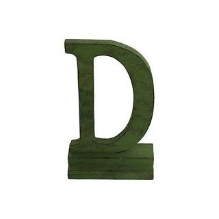 Vintage Letter D For Sale