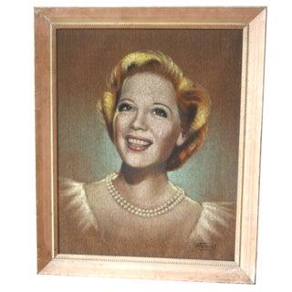 Mid-Century Portrait Painting - Dinah Shore