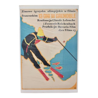 Polish Mounted Film Poster For Sale