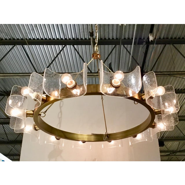 Contemporary Arteriors Home Valerie Chandelier For Sale In Atlanta - Image 6 of 8