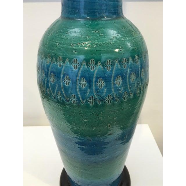 Bitossi Ceramiche Art Pottery Lamp - Image 6 of 9