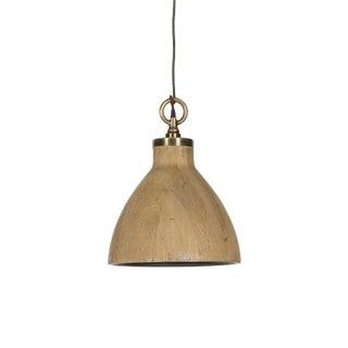 Medium Natural Oak Pendant