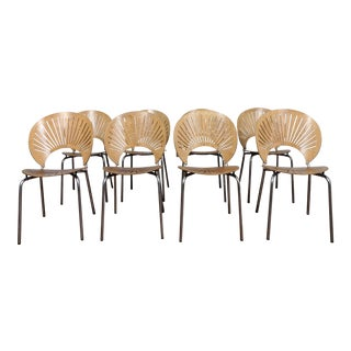 "Modern Nanna Ditzel ""Trinidad"" Chairs- Set of 8 For Sale"