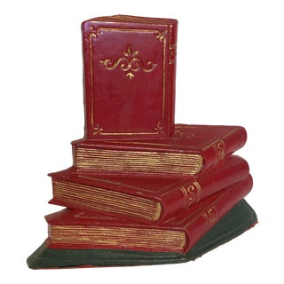 Iron Stack of Books Doorstop