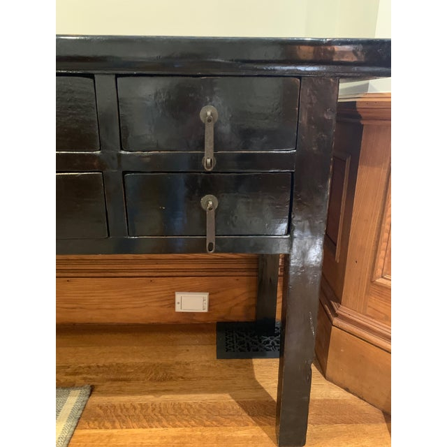19th Century Console Table With Drawers For Sale - Image 4 of 5