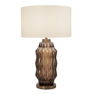 Laguna Column Table Lamp in Mocca Colour For Sale