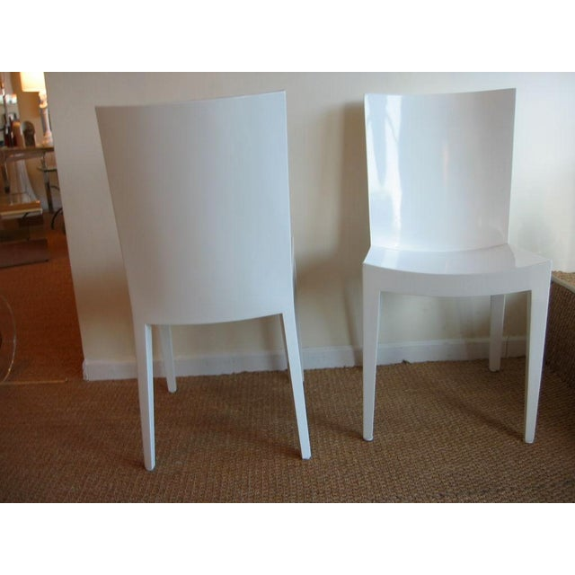 "Pair of Karl Springer ""JMF"" Chairs - Image 3 of 7"