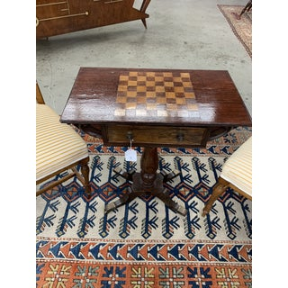English Mahogany Games Table Composed of Antique Elements Preview