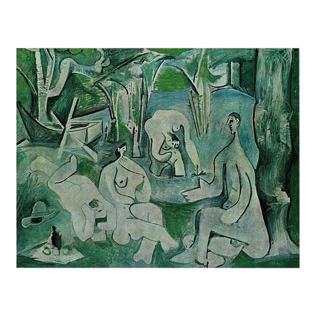 "1971 Pablo Picasso, ""Luncheon on the Grass"" Period Parisian Photogravure For Sale"
