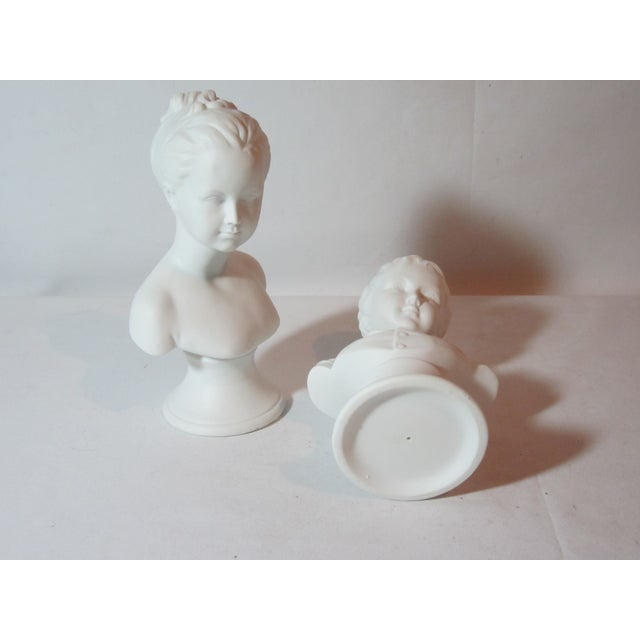 Boy and Girl Busts - Pair - Image 7 of 8