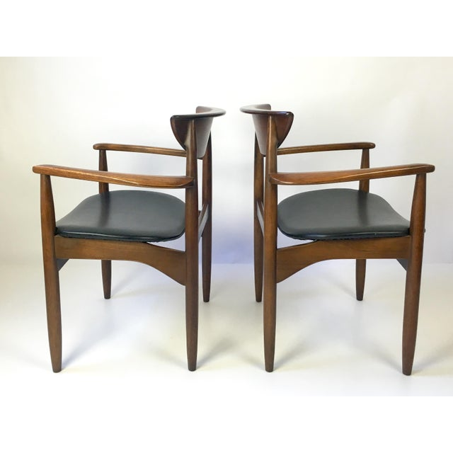 Lane Furniture Lane Perception Modernist Armchairs - A Pair For Sale - Image 4 of 9