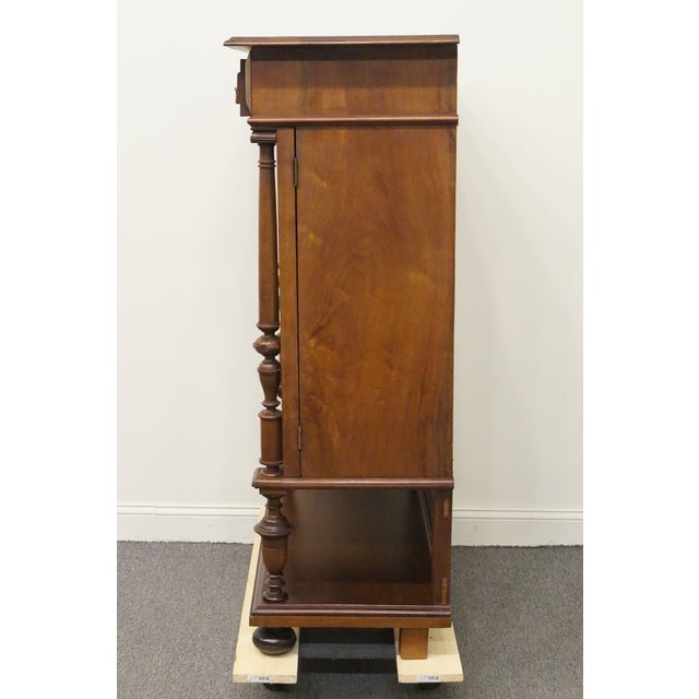 20th Century Traditional Burl Walnut and Mahogany Court Cupboard For Sale - Image 9 of 12