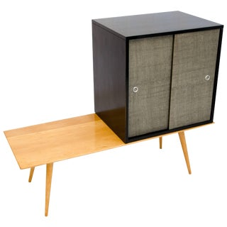 Paul McCobb Modular Cabinet on a Platform, Planner Group For Sale