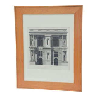 Set of Three Early 19th Century Architectural Prints by Louis-Pierre Baltard De La Fresque For Sale