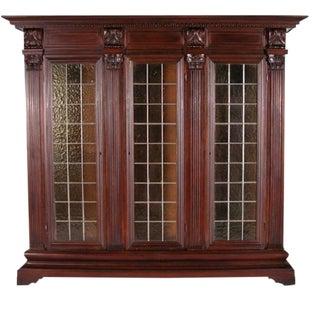 Vintage Renaissance Revival Bookcase