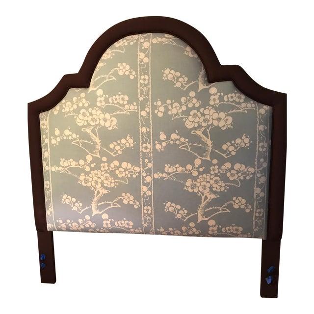 Custom Upholstered Queen Size Headboard - Image 1 of 3