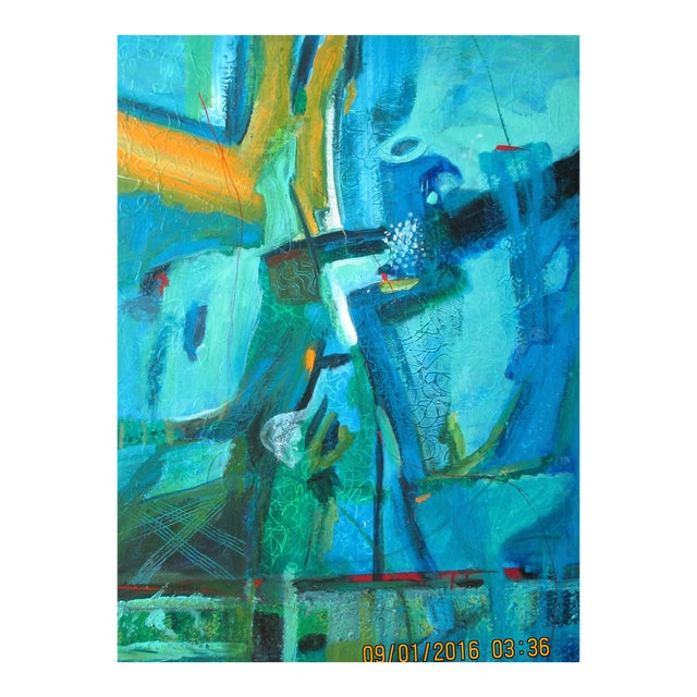 """Summertime Blues"" Original Painting For Sale"