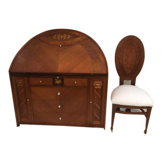 Calderoni Italian Made Writing Desk For Sale