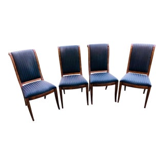Henredon Contemporary Regency Dining Chairs-Set of 4 For Sale