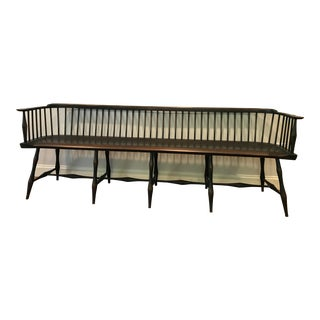 Benner's Riverbend Lowback Wood Bench For Sale