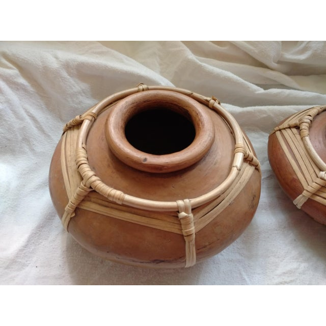 Sri Lankan Stacking Curry Serving Pots - Set of 3 For Sale In Sacramento - Image 6 of 7